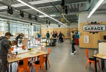 Moscone Center, San Francisco, Annual Gold Nugget Awards, DES Architects + Engineers, DES A+E, Best Education Project, Design Tech High School, Oracle`s Silicon Valley campus, Moffett Place Amenities, Tech Workplace, Oakland,