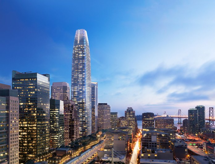 San Francisco, Salesforce Transit Center, OnSite Dental, Facebook, LinkedIn, Silicon Valley, Pacific Union International, Bay Area, Slack, iShares, Transbay Joint Powers Authority, Lincoln Property Company, Colliers,