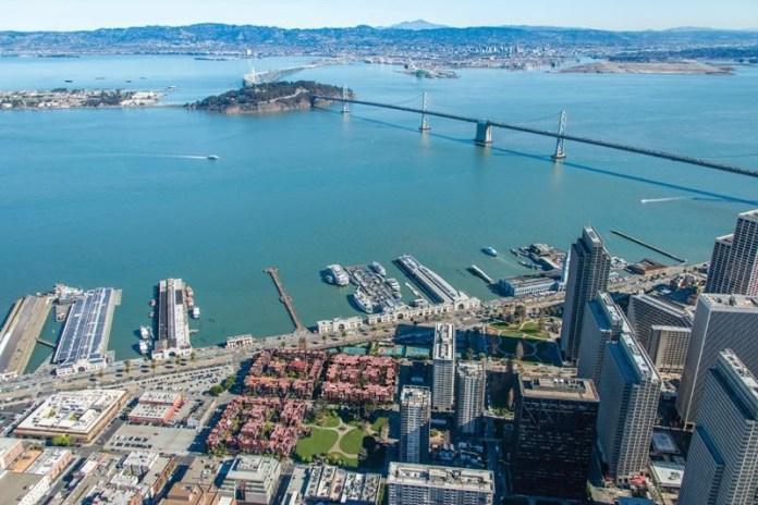 Blackstone, Embarcadero Square, San Francisco, JLL, Gaw Capital, Real Capital Analytics, Esurance, CBF Electric & Data, Blackstone Property Partners