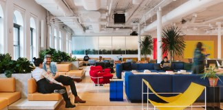 WeWork, San Jose, Palo Alto, RMW Architecture and Interiors, Park Place Associates, Groupon, HQ by WeWork, San Francisco,