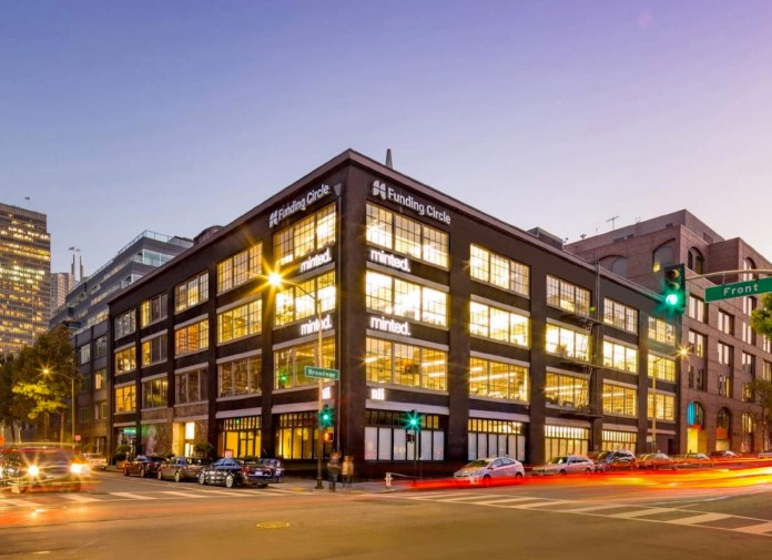 San Francisco, Polidev Investments, CBRE, Minted, Funding Circle, Jackson Square, California Street, Front Street