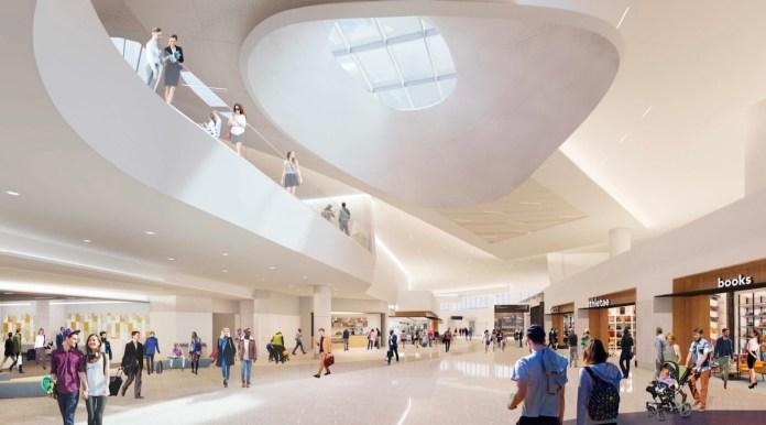 San Francisco International Airport, Bay Area, Boston, New York, Pacific Rim, Gensler, Kuth Ranieri, Hensel Phelps, Austin Commercial & Webcor Builders