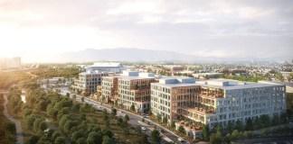 Boston Properties, San Jose, San Francisco, TMG Partners, Bay Area, Valley Oak Partners, Google, Caltrain, BART, Kohn Pedersen Fox Associates