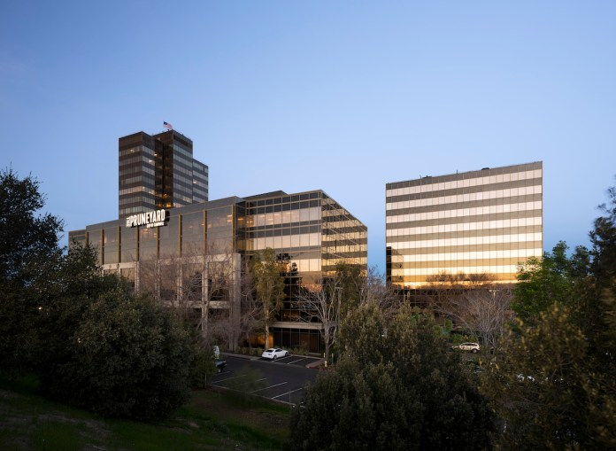 Oaktree Capital Management, Ellis Partners, Pruneyard Office Towers, Silicon Valley, Campbell, VTA, Eastdil Secured, Cushman & Wakefield