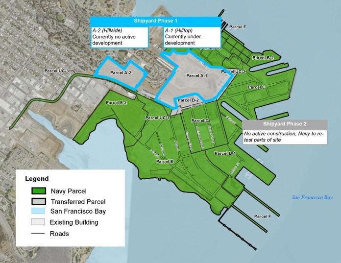 San Francisco, Navy , Hunters Point Naval Shipyard, Tetra Tech EC, U.S. Environmental Protection Agency, California Department of Public Health