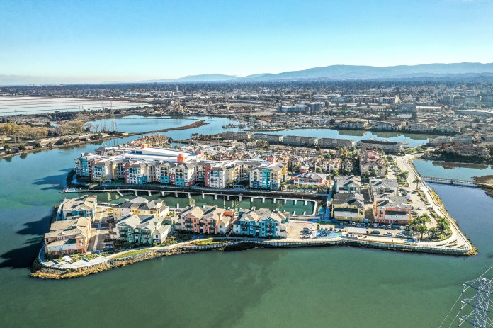 Blu Harbor Redwood City Newmark Knight Frank GID Pauls Corporation Fortress Investment Group Peninsula Bay Area apartment