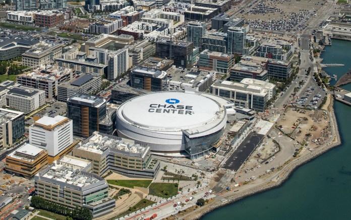 Clark Construction Group Mortenson Chase Center San Francisco Golden State Warriors Uber MANICA Kendall Heaton Associates Gensler