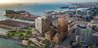 Tishman Speyer, San Francisco Giants, Oracle Park, MVRDV, Workac, HenningLarsen, Studio Gang, SCAPE, Miller Company, Min Design