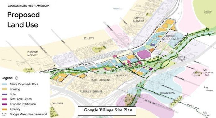 Google, Diridon Station, San Jose, Diridon Station Action Plan, Lendlease, SiteLab, ARUP, Heatherwick Studio, West 8, Prior and Partners