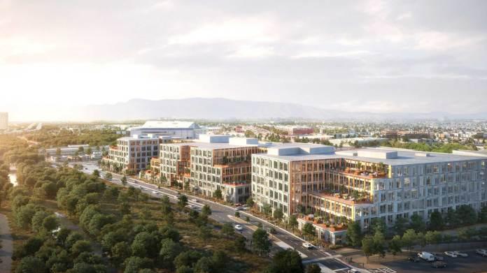 Boston Properties Canada Pension Plan Investment Board CPPIB San Jose Diridon Station Platform 16 TMG Partners Silicon Valley