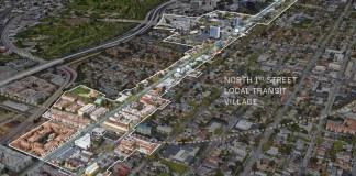 City of San Jose, San Jose, North First Street Transit Village Plan, Google, Rambus, Novel
