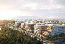 Boston Properties, San Jose, Platform 16, Bay Area, Diridon Station, Kohn Pedersen Fox Associates, Canada Pension Plan Investment Board, TMG Partners, Valley Oak Partners, CBRE