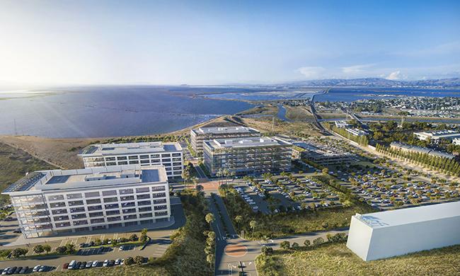 America Center USAA Real Estate San Jose JLL San Francisco Silicon Valley Foster City SteelWave Mori Trust