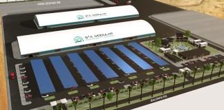 Patterson, S2A Modular, GreenLux, MegaFactory, West Patterson Business Park