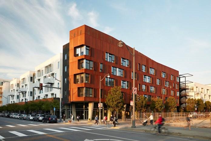 David Baker Architects, HUD, San Francisco, Five88, La Valentina Station