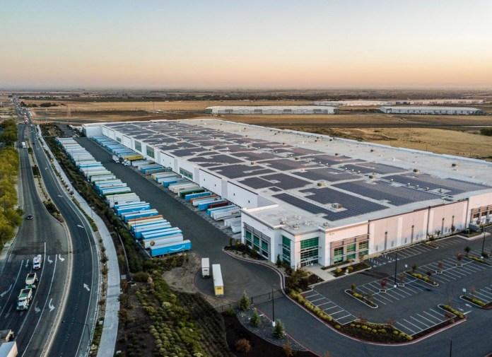 Amazon, Tracy, Prologis, International Park of Commerce, Michaels, Colliers International, Home Depot, Phelan Development, North Tracy Commerce Center