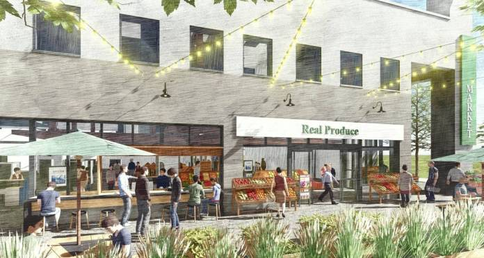 Palo Alto, Blox Ventures, Silicon Valley, Real Produce International Market, College Terrace, San Jose, SWA Group, Hayes Group Architects