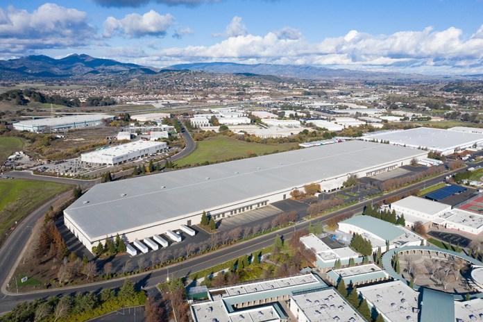 North Bay Logistics Center Fairfield BentallGreenOak Gramercy Property Trust Blackstone 5195 Fermi Drive