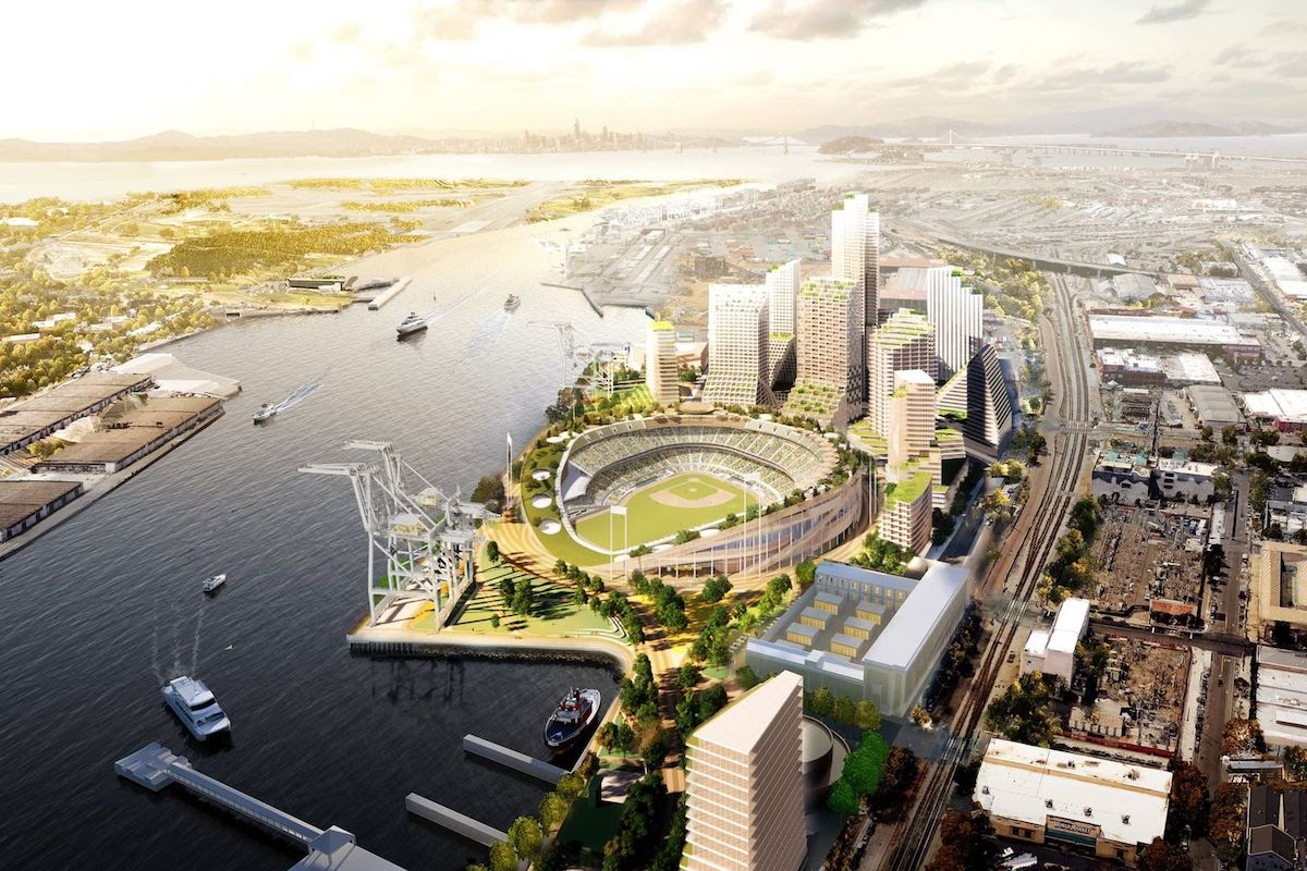 City of Oakland Releases Draft EIR for Athletics' Howard ...
