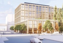 Tishman Speyer, Chase Bank, WRNS, GLS Landscape and Architecture, Redwood City, 2300 Broadway