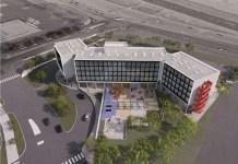 citizen M Hotels, Facebook West Campus, Facebook, San Mateo, Gensler, 300 Constitution Drive