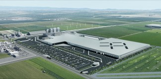 Faraday Future, Ware Malcomb, Hanford, Los Angeles, Property Solutions Acquisition Corp.
