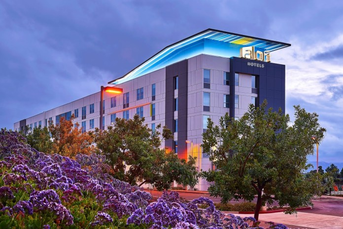 HRI Properties, Marriott, Aloft Santa Clara, San Jose, CalTex Hospitality