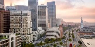 One Steuart Lane San Francisco Paramount Group Polaris Pacific SOM Skidmore Owings & Merrill SRE Group