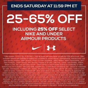 TideFansStore.com: BIG SALE! 25-65% off + 25% off Nike & Under Armour on Alabama Apparel, Alabama Crimson Tide Gear, University of Alabama Store. Ends 11/11 @ 1159pm ET.