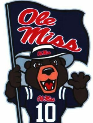 Ole Miss Rebel Black Bear