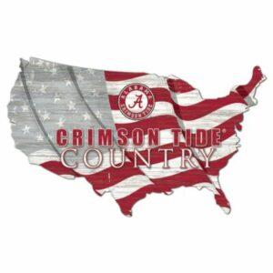 TideFans.shop - Fanatics Crimson Tide Country Cutout