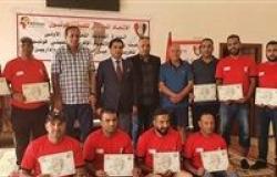 ختام ناجح للدورة التدريبية الدولية الأولي للميني فوتبول بقطاع القناة – مصر