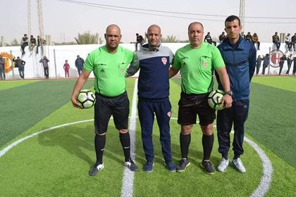 كريم الظاهري و علي سيدهم تحت تصفيق الجمهور