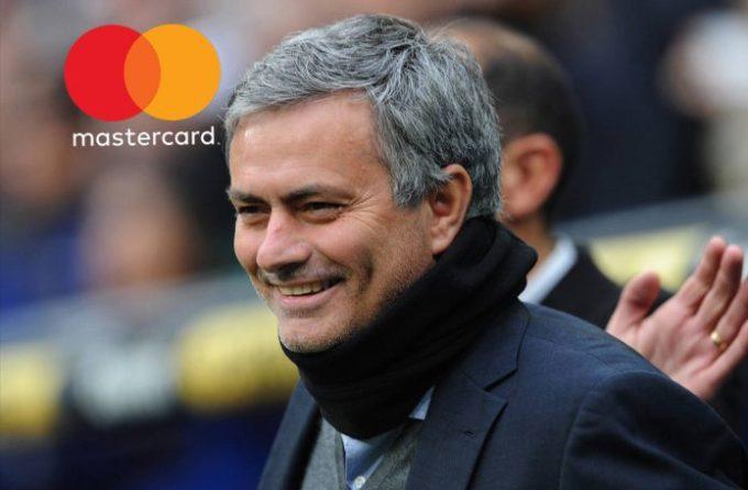 Mastercard Inggris dan jose mourinho