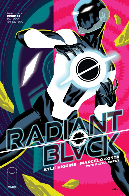 Radiant Black - A New Toku-Inspired Comic by Kyle Higgins - Tokunation