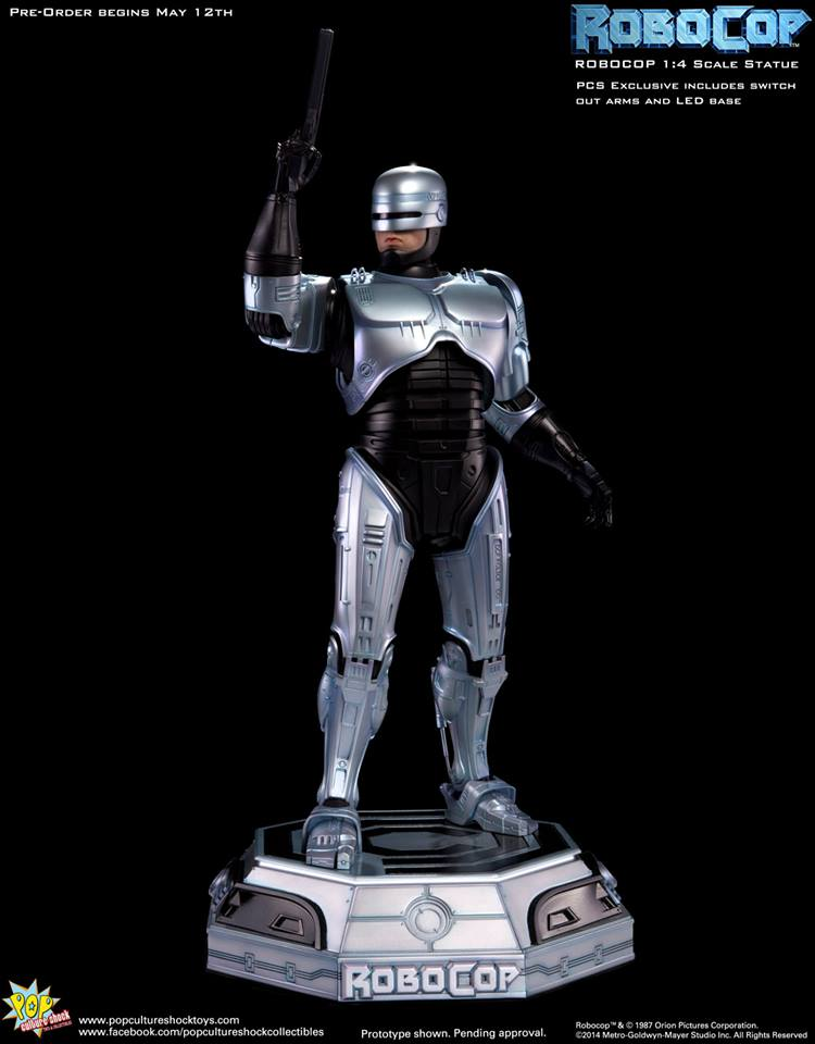 PCS Robocop Statue PCS Exclusive 016