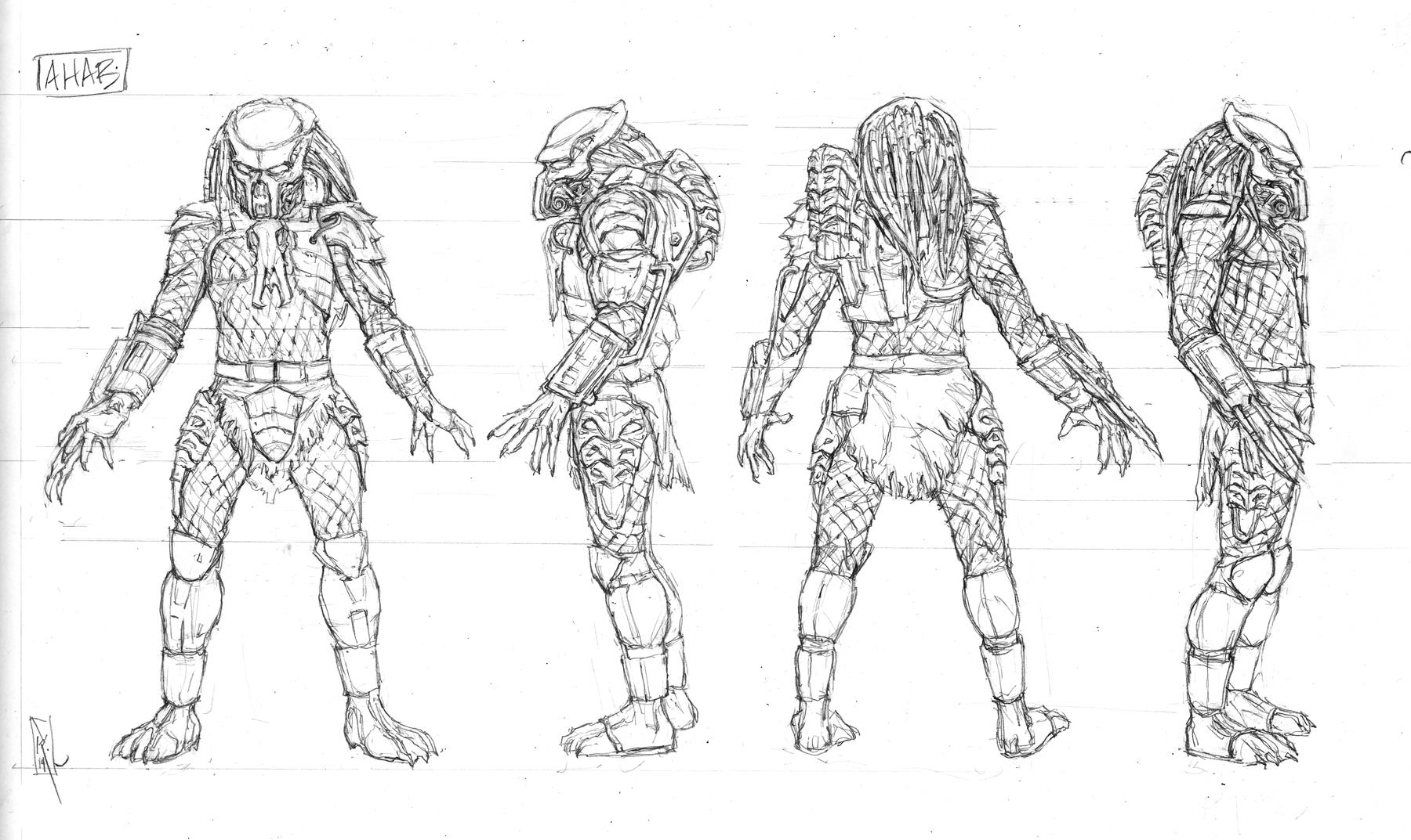 Neca Sdcc Exclusive Dark Horse Comics Ahab Predator
