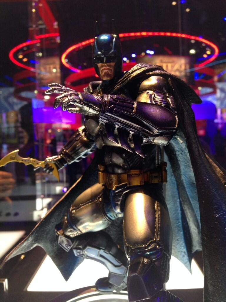 Play Arts Kai Batman Arkham Origins SDCC 2014 Batman