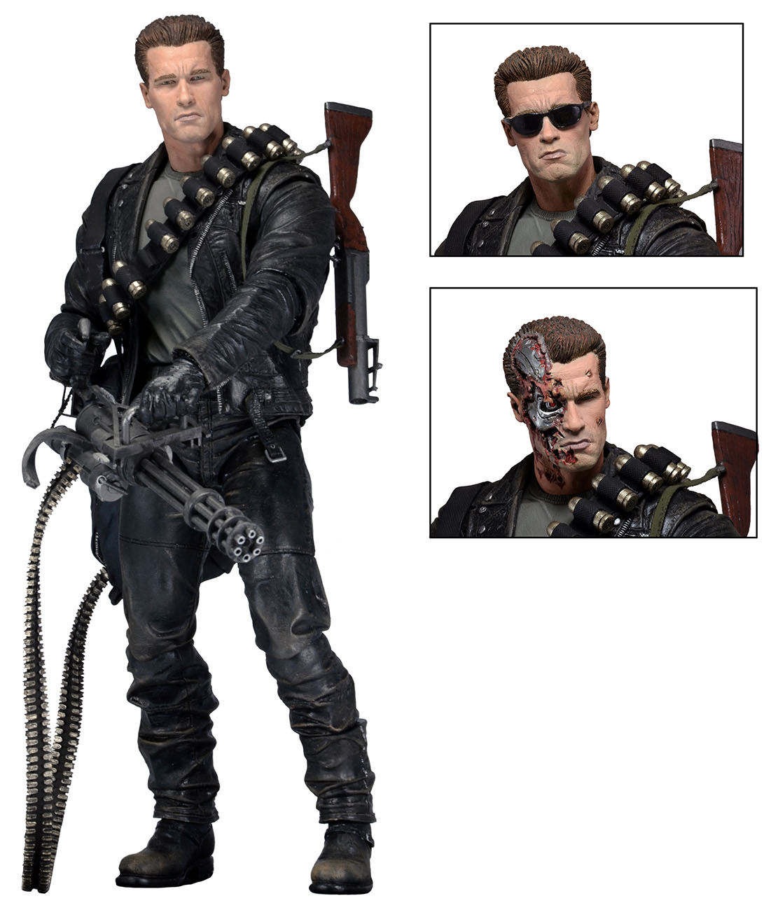 Ultimate T 800 And Ultimate Leatherface Official Images