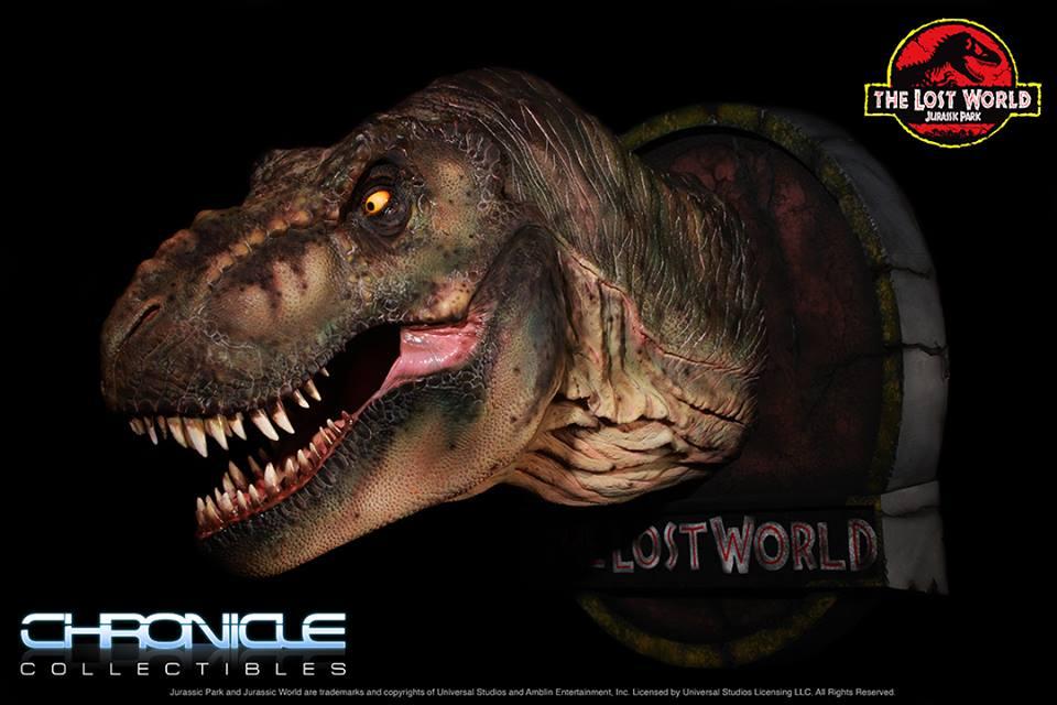 Lost World Jurassic Park T Rex Bust 002