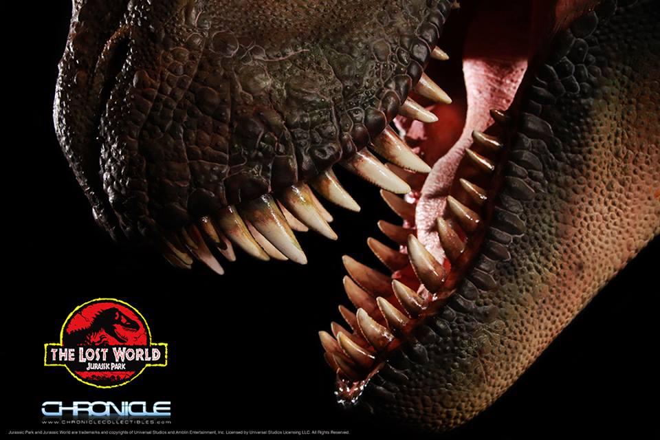 Lost World Jurassic Park T Rex Bust 003