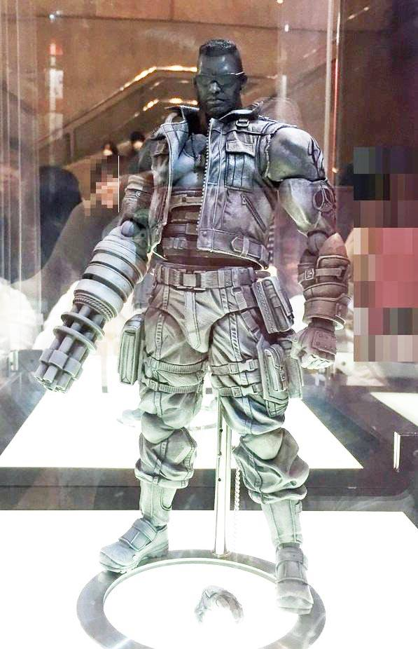 Final Fantasy VII Remake Play Arts Kai Cloud Amp Barrett The Toyark News