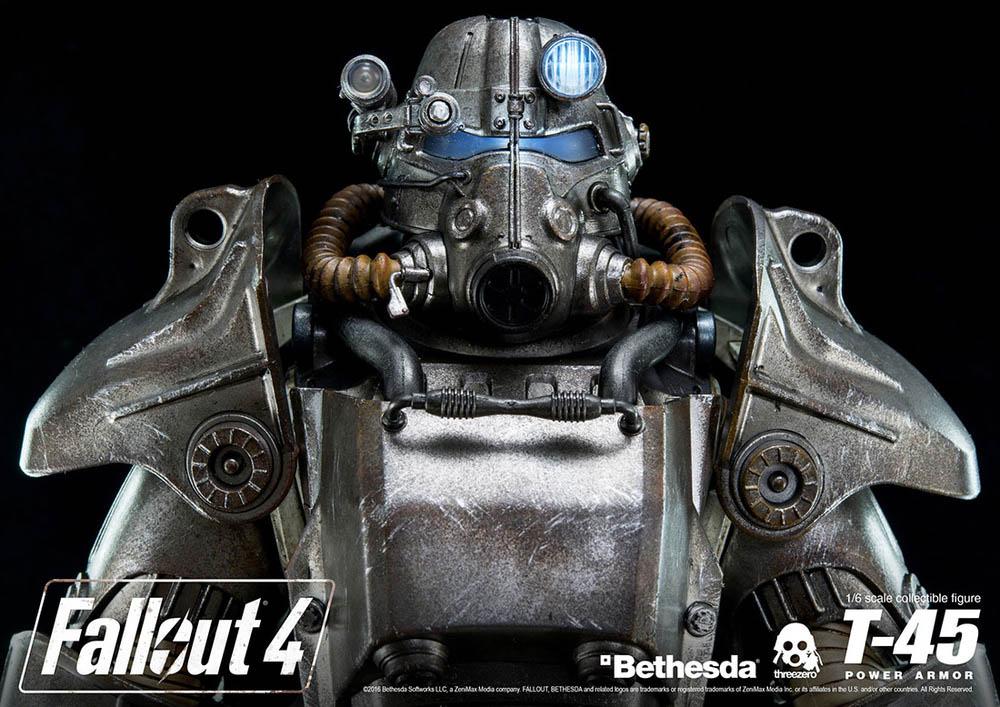 ThreeZero Fallout 4 T 45 Power Armor Update The Toyark News