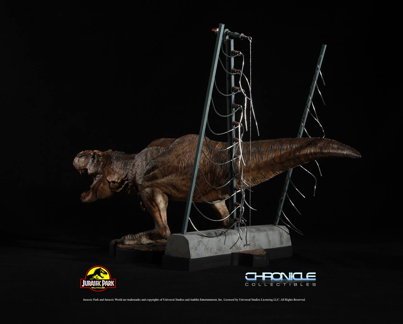 Jurassic Park T Rex Breakout Diorama 003