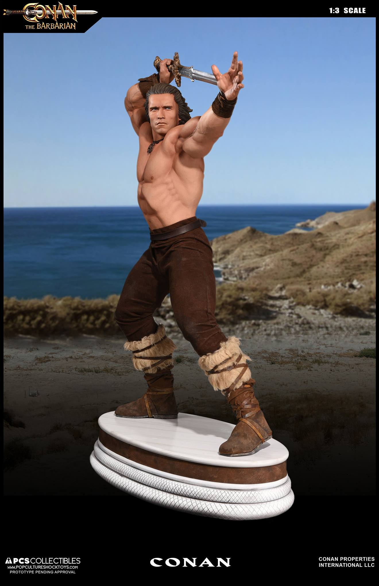 PCS Conan Statue 004