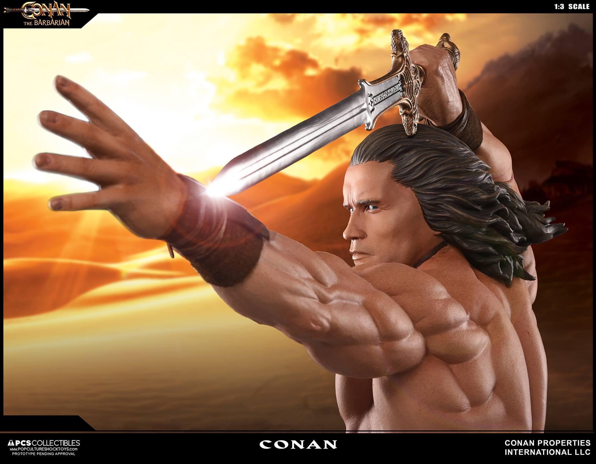 PCS Conan Statue 006