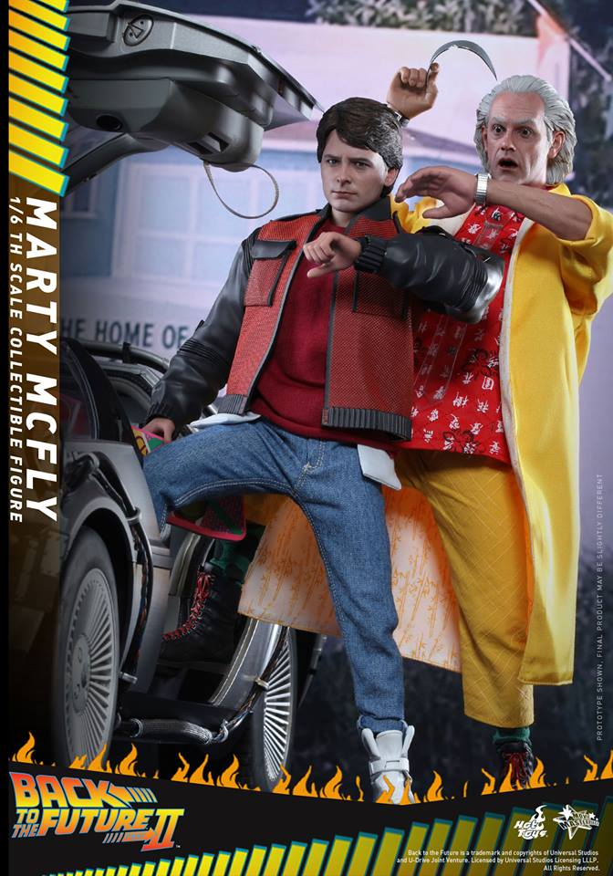 Resultado de imagen de back to the future hot toys