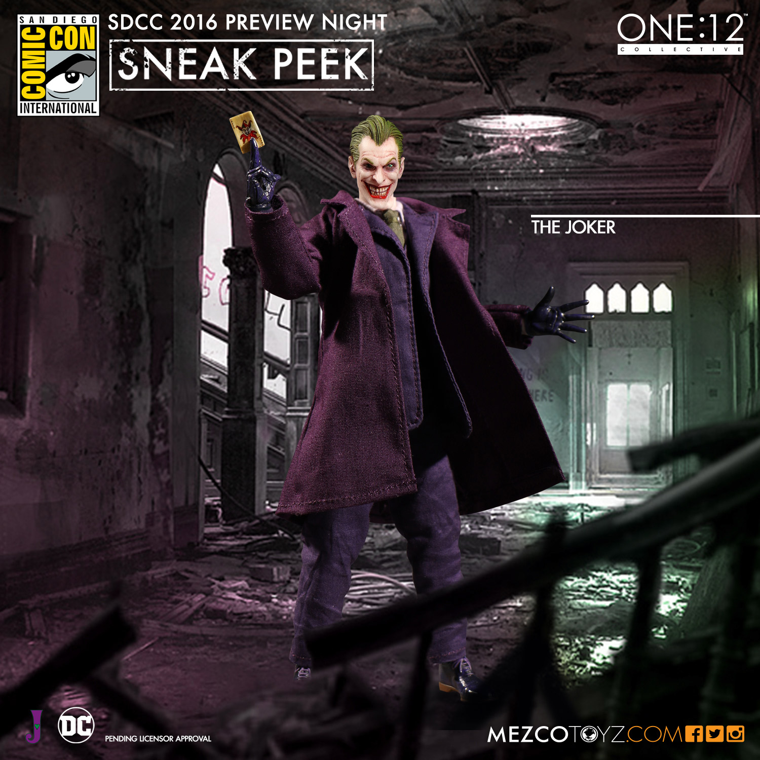 Mezco One12 Collective The Joker