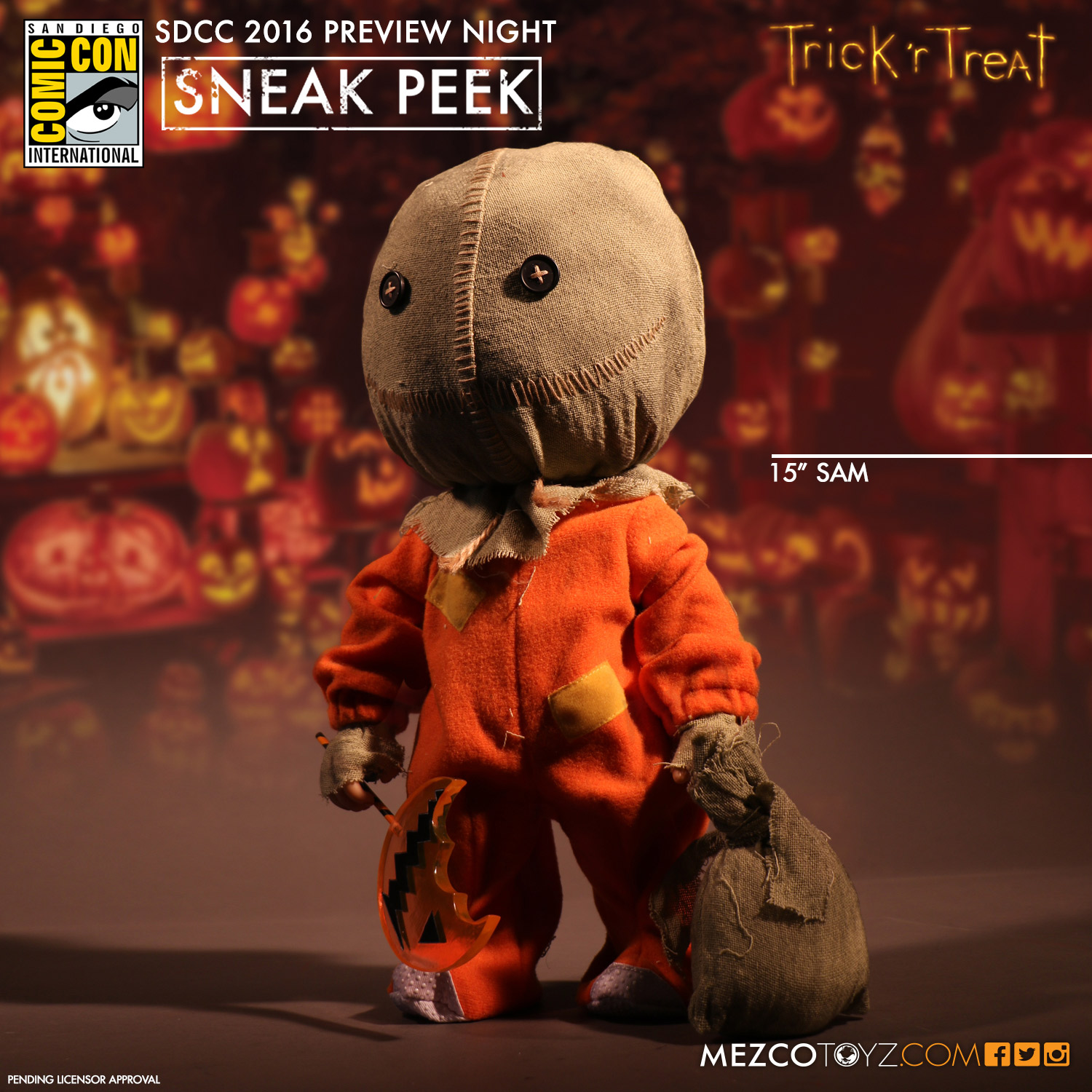 Mezco Trick r Treat Sam
