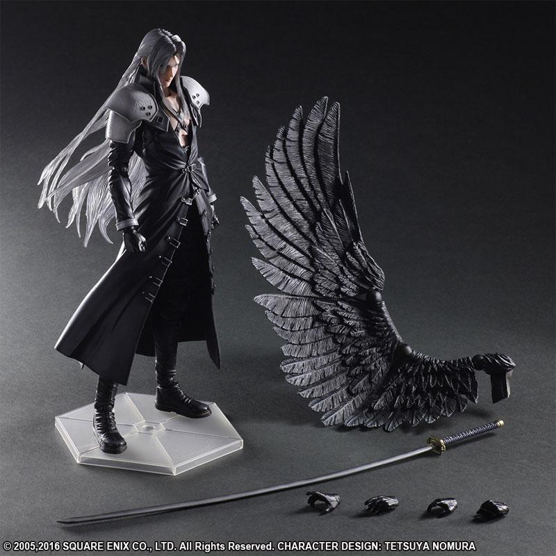 FF7 Sephiroth Play Arts Kai 008